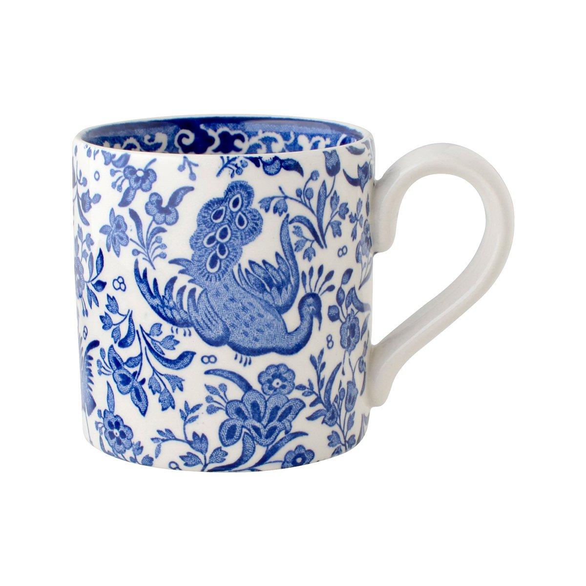 Burleigh(バーレイ) マグカップ 284ml <Blue Regal Peacock>ブルーリーガルピーコック 詳細画像1