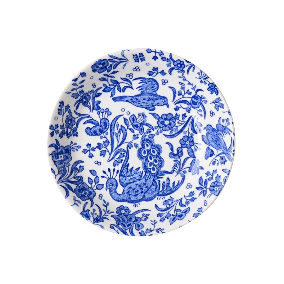 Burleigh(バーレイ) フルーツプレート <Blue Regal Peacock> 詳細画像1