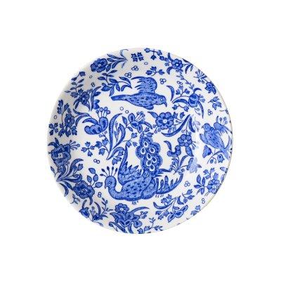 Burleigh(バーレイ) フルーツプレート <Blue Regal Peacock>ブルーリーガルピーコック