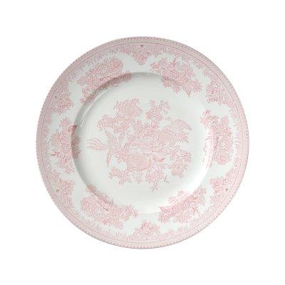 Burleigh(バーレイ) プレート22cm <Pink Asiatic Pheasants>ピンクアジアテックフェザンツ
