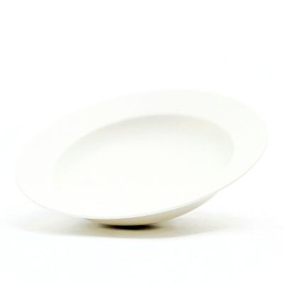パスタ皿 8寸 ミルク