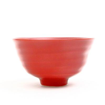 ご飯茶碗 ローズレッド