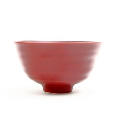 ご飯茶碗 ワインレッド