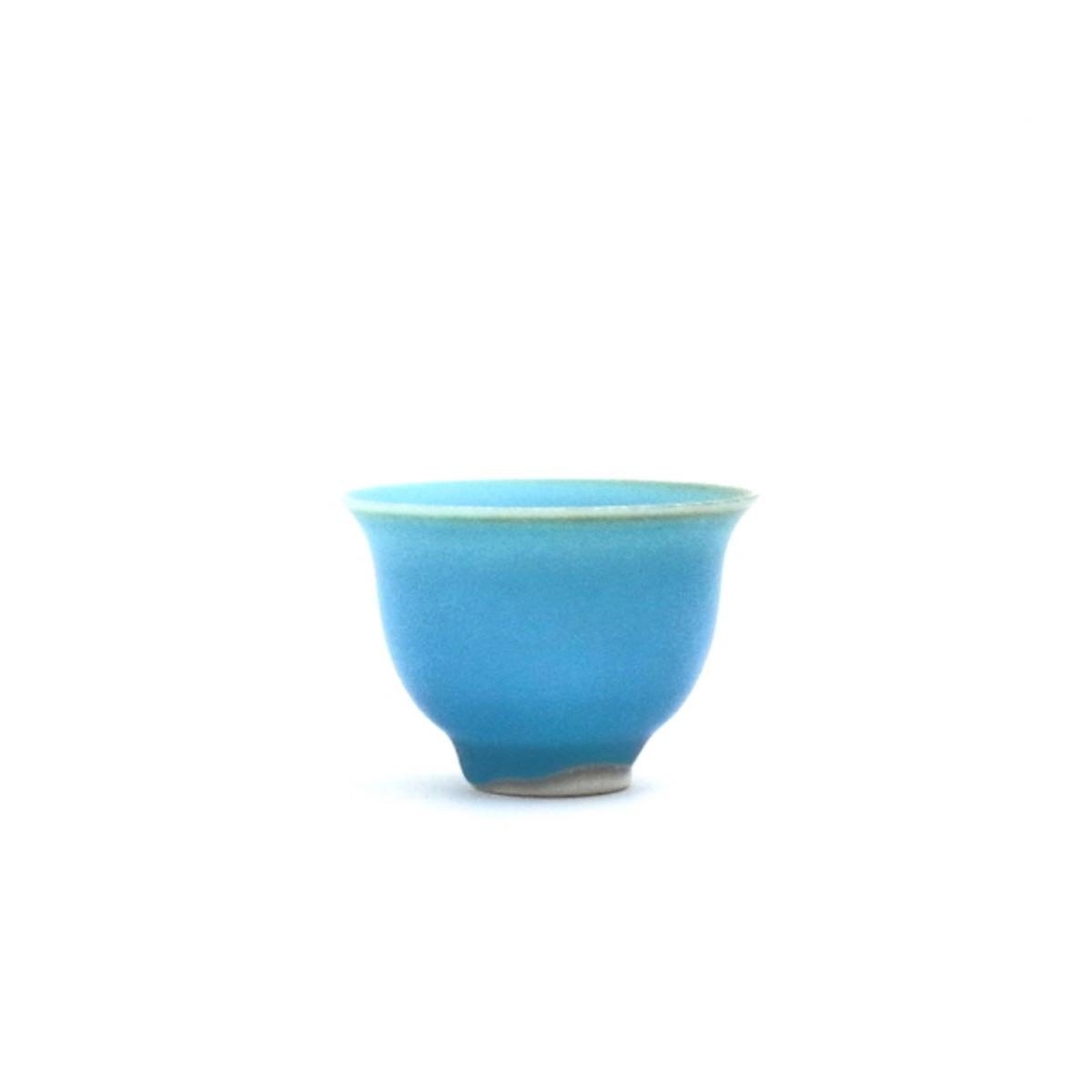 中国茶碗 スターブルー 詳細画像1