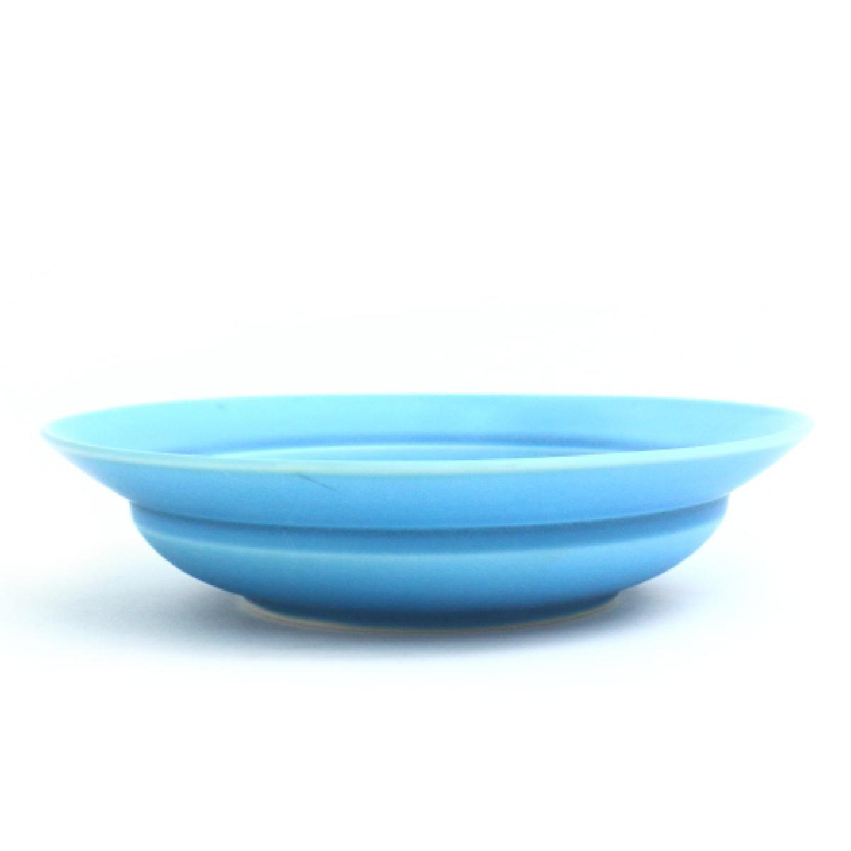 パスタ皿 8寸 スターブルー 詳細画像1