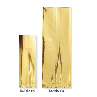 NO.4 メタルガゼット ゴールド 100×80×300