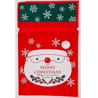 クリスマス巾着袋(不織布)
