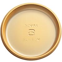チョコレート 丸トレー&袋(ゴールド)