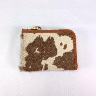 mononogu/モノノグ ハラコ二つ折り財布 癒される人気素材 ファスナー開閉ワンアクション 使いやすい 信頼のmade in JAPAN