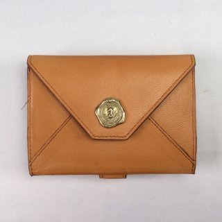 SAN HIDEAKI MIHARA/ サン ヒデアキミハラ メールシリーズ 二つ折り財布 軽量ヤギ革 MADE IN JAPAN