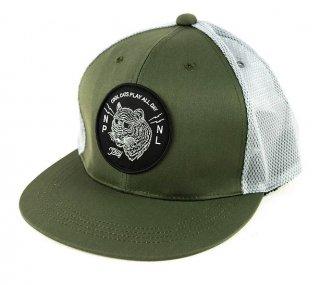 P01 (プレイ) CC MESH CAP 2020 オリーブ