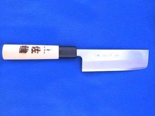 土佐雅 磨き 青鋼 菜切 4寸