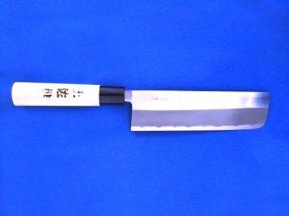 土佐雅 磨き 青鋼 菜切 5.5寸