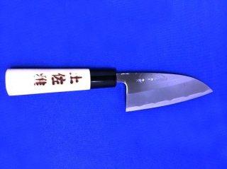 土佐雅 磨き 青鋼 出刃包丁 両刃4寸