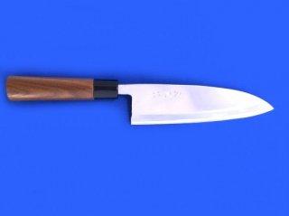土佐雅 磨き 青鋼 出刃包丁 片刃5寸