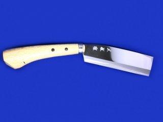 土佐雅 鉈 両刃 6寸 青鋼
