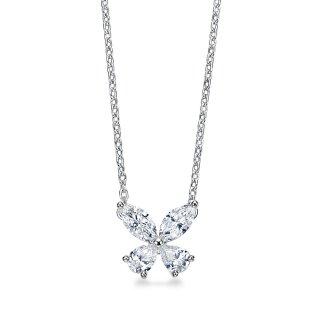Pt プラチナ ダイヤモンド ネックレス Papillon (パピヨン) 0.5ct F VSの商品画像