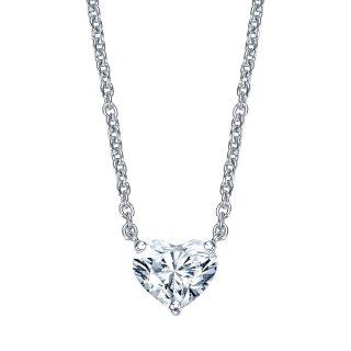 Pt プラチナ ネックレス ハートシェイプダイヤモンド Raffine (ラフィネ)  0.3ct E SI1の商品画像