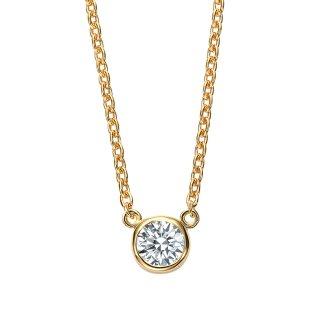 K18 ダイヤモンド ネックレス Bezel(ベゼル)0.1ctの商品画像