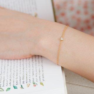 K18 ダイヤモンド ブレスレット Bezel(ベゼル)0.1ctの商品画像