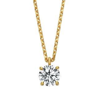 K18 ダイヤモンド ネックレス Enchante (アンシャンテ) 0.3ct DEFG SI VERYGOODの商品画像