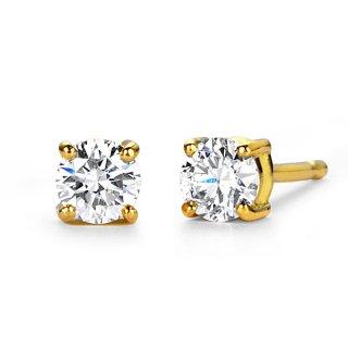 K18 ダイヤモンド ピアス Enchante (アンシャンテ) 0.2ctの商品画像