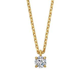 K18 ダイヤモンドネックレス Enchante (アンシャンテ) 0.1ctの商品画像
