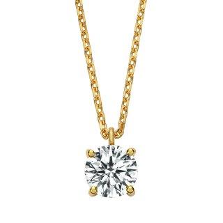 K18 ダイヤモンドネックレス Enchante (アンシャンテ) 0.5ct F G SI1 VERYGOODの商品画像