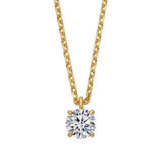 K18 ダイヤモンドネックレス Enchante (アンシャンテ)0.2ct G SI EXCELLENT(エクセレント)の商品画像