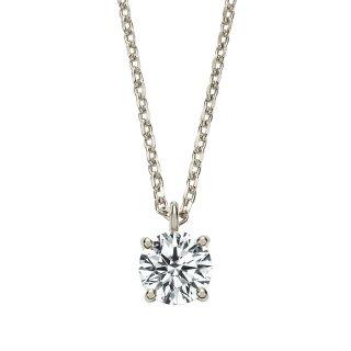 Pt プラチナ ダイヤモンドネックレス Enchante (アンシャンテ)0.3ct DEFG SI VERYGOODの商品画像
