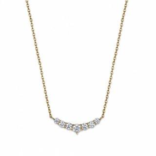 K18 ダイヤモンドネックレス La lune(ラ・リューン) 0.5ctの商品画像