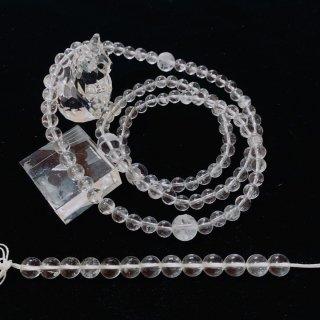 カンチェンジュンガ産水晶の念珠