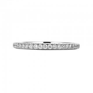 Pt950 マイクロセッティング ダイヤモンド フルエタニティリングの商品画像