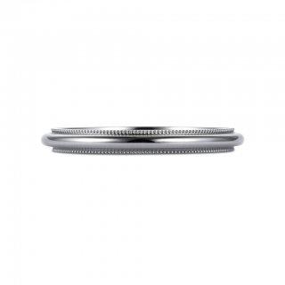K18WG ミルグレイン 2mmの商品画像