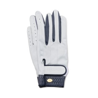 Elegant Golf Glove 【両手】<br>white-smoke