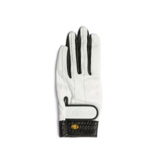 Elegant Golf Glove 【左手】<br>white-black