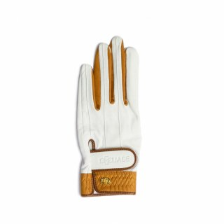 Elegant Golf Glove 【左手】<br>white-brandy