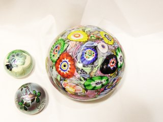 genuine venetian glass made in murano italy ペーパーウェイト