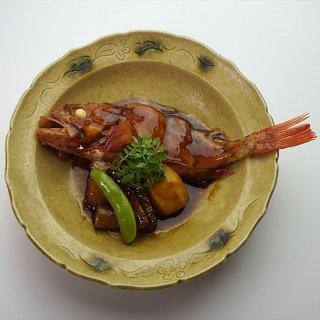 きんきと旬野菜の煮付け