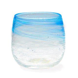潮風 タルグラス 青/水