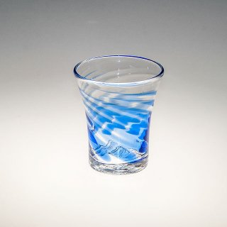 TSUNAMIグラス(小) 青