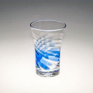 TSUNAMIグラス(大) 青