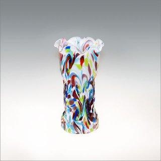 さんご礁 花瓶 白