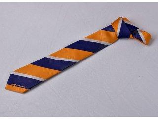 ネクタイ オレンジ×ホワイト