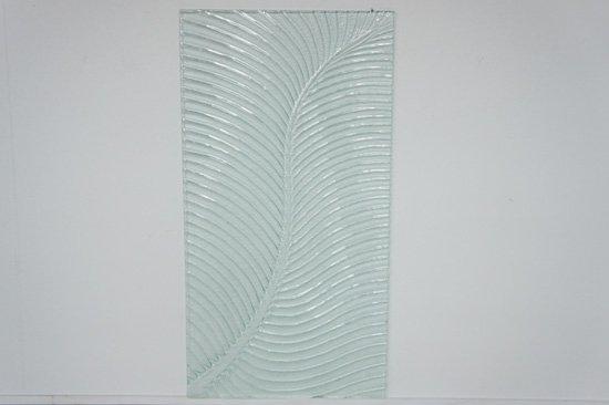 バリガラスパネル・ヤシ・105cm×55cm