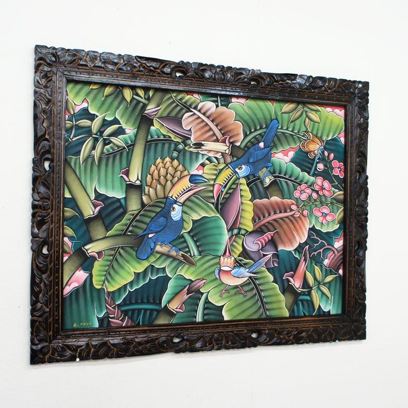 バリ絵画・ブンゴセカン/91*71cm/PA-019-126