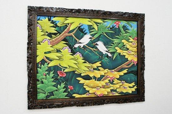 バリ絵画・ブンゴセカン/91*71cm/PA-019-121
