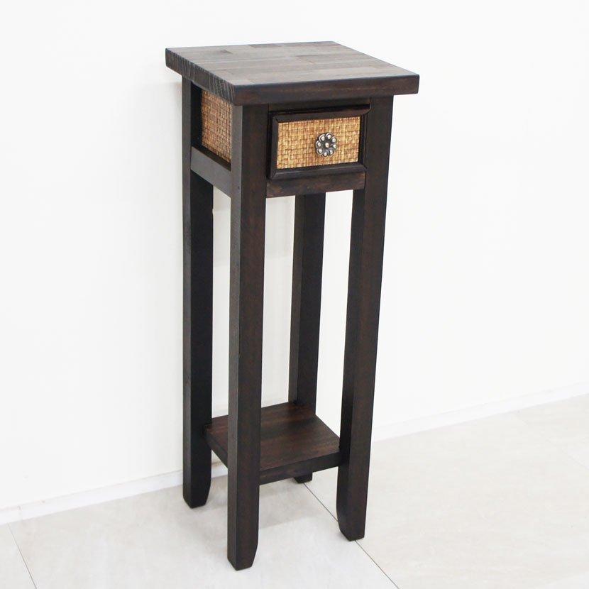 アジアン家具・木製ハンドメイド台・エスニック