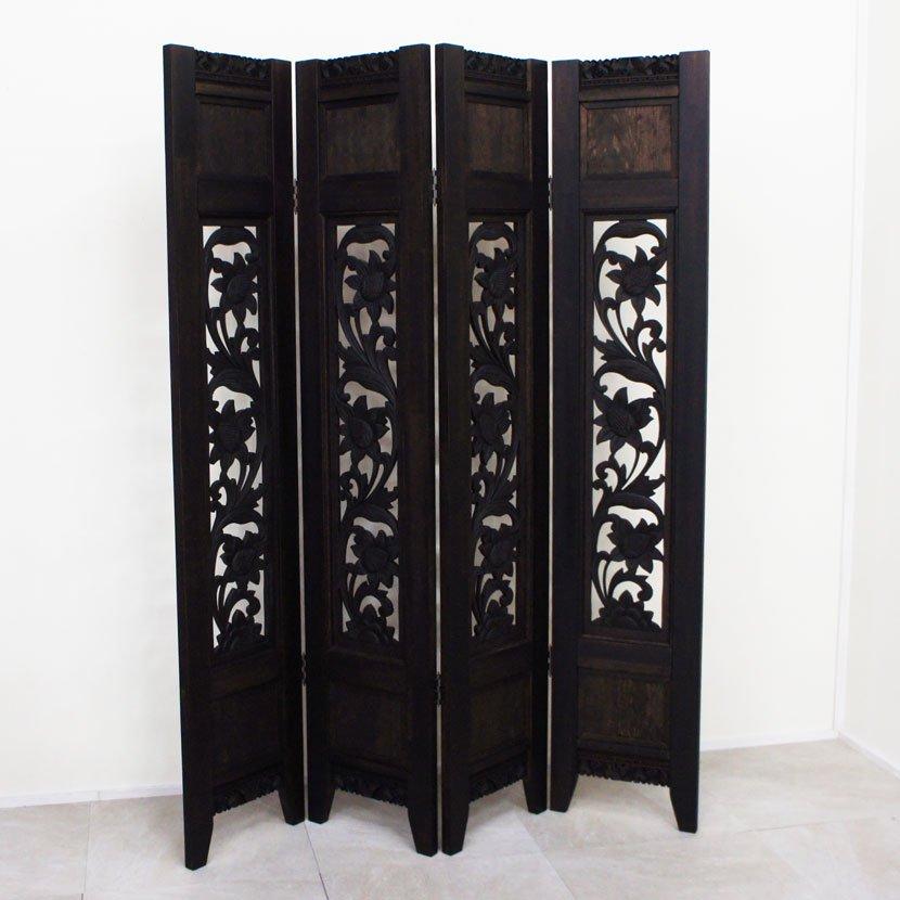 バロンオリジナルアジアン木製コンソールテーブル/W100・H80cm/BOT-002