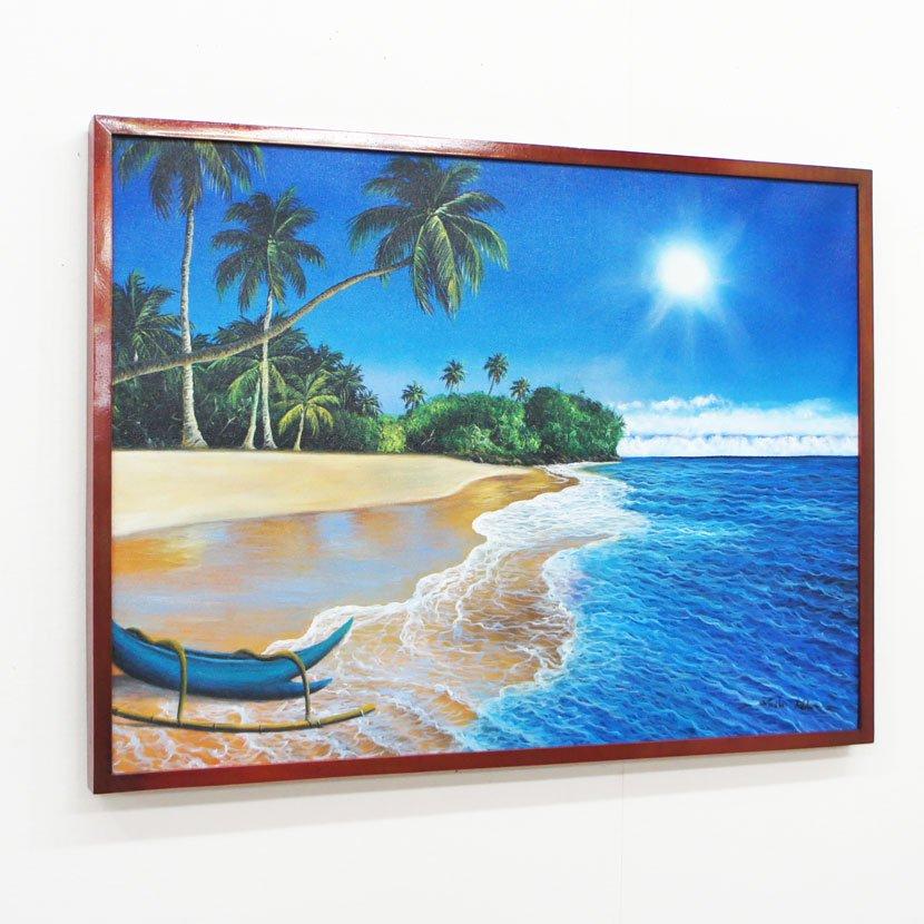 バリ絵画・バリの海/83*63cm/PA-159-24